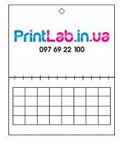 Календар квартальний міні на одну пружину 2019 рік