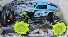 Джип на радио управлении машинка внедорожник модель 4x4 Racing Cars 25см синий 1:18