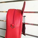 Сумка рюкзак трансформер Ушки как у мышки (красный), фото 4
