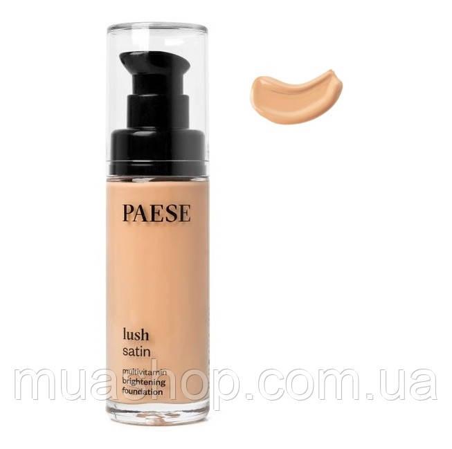 Тональный крем Lush Satin Multivitamin Brightening (32, натуральный) PAESE, 30 мл