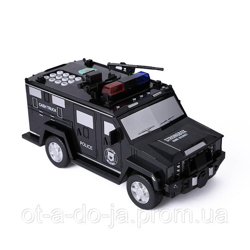 Машинка копилка Money Box Toy Черная