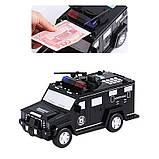 Машинка копилка Money Box Toy Черная, фото 3