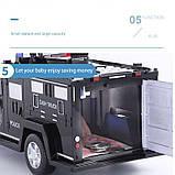Машинка копилка Money Box Toy Черная, фото 6