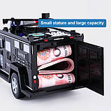 Машинка копилка Money Box Toy Черная, фото 7