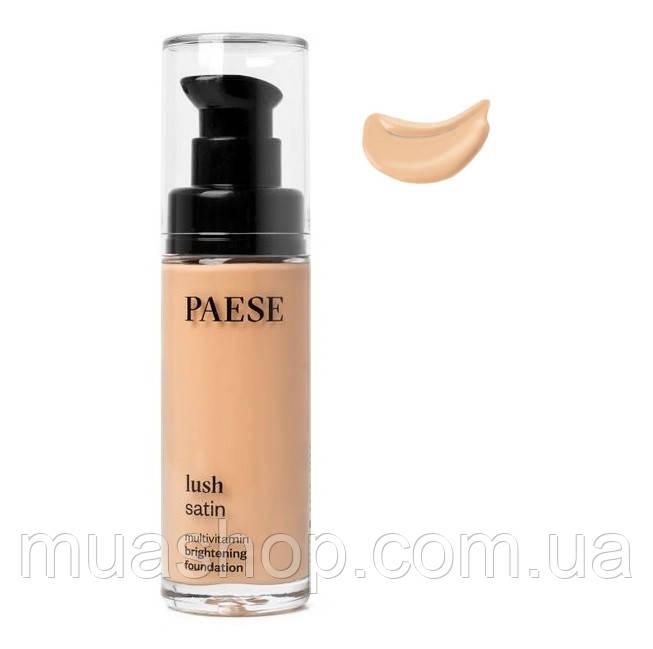 Тональный крем Lush Satin Multivitamin Brightening (31, тёплый беж) PAESE, 30 мл