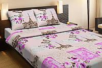 Постельное белье Lotus ранфорс - Paris персиковое двуспальное