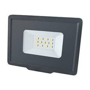 Светодиодный прожектор 10W холодный свет 6200К BIOM S5-SMD-10-Slim 220V IP65