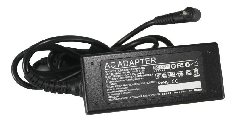 Блок питания для ноутбуков PowerPlant SAMSUNG 220V, 12V 40W 3.3A (2.5*