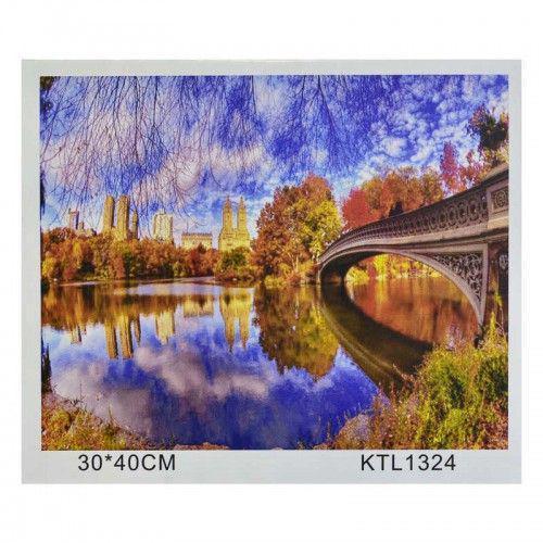 """Картина по номерам """"Осень""""  KTL1324 (TC112866)"""