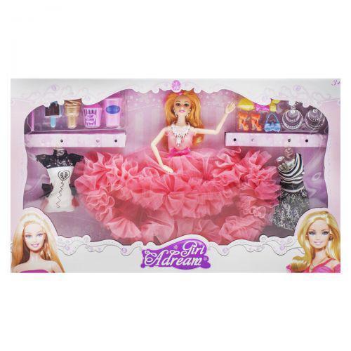 "Кукла ""Girl Adream"", коралловый  654A (TC148417)"