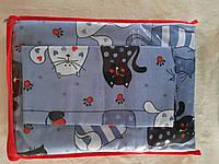 Комплект детского постельного белья в кроватку Кошки, бязь Голд Люкс, 110х140 см