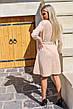 Замшевое платье с поясом / арт.398, фото 3