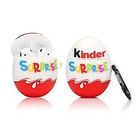 Чехол для AirPods silicone case Kinder Surprise