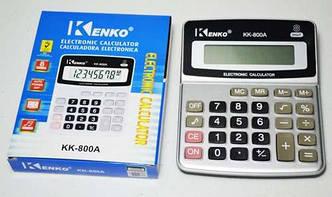 Небольшой настольный калькулятор kenko kk-800a