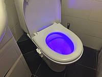 Умная подсветка для унитаза с датчиком Lightbowl LED Светодиодное ночное освещение туалета