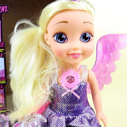 XMY8088 Кукла фея-единорог, муз., Свет, бат., Кор., 22-40,5-12 см., фото 2