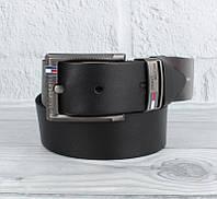 Ремень кожаный под джинсы черный 8208-408, фото 1