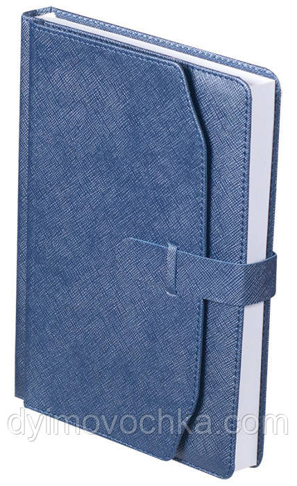 Ежедневник недатированный А5 Buromax 288 стр. синий CREDO BM.2017-02