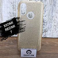 Блискучий чохол для Xiaomi Redmi 7, фото 1