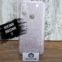 Блискучий чохол для Xiaomi Redmi 7
