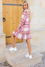Шерстяное платье в клетку / арт.930, фото 2