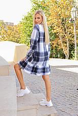 Шерстяное платье в клетку / арт.930, фото 3