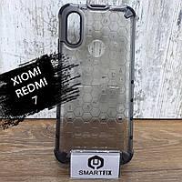 Пластиковый чехол для Xiaomi Redmi 7 HoneyComb