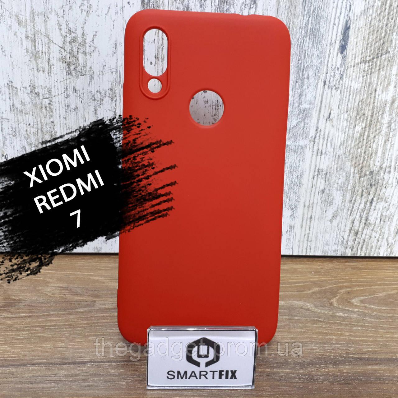 Силиконовый чехол для Xiaomi Redmi 7