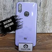 Силіконовий чохол для Xiaomi Redmi 7 Glossy Logo