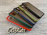 TPU чехол накладка Matte Color Case (TPU) для Samsung Galaxy M31s (5 цветов), фото 1