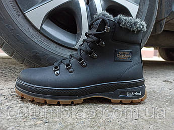 Зимние кожаные мужские ботинки Timberland