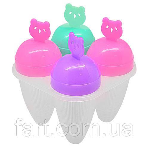 Формы для мороженого 4шт/наб 12см