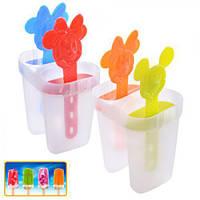 Формы для мороженого пластик 4шт/наб 8см