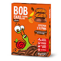 Натуральные конфеты Bob Snail Хурма в бельгийском молочном шоколаде 60 г ТМ: Bob Snail