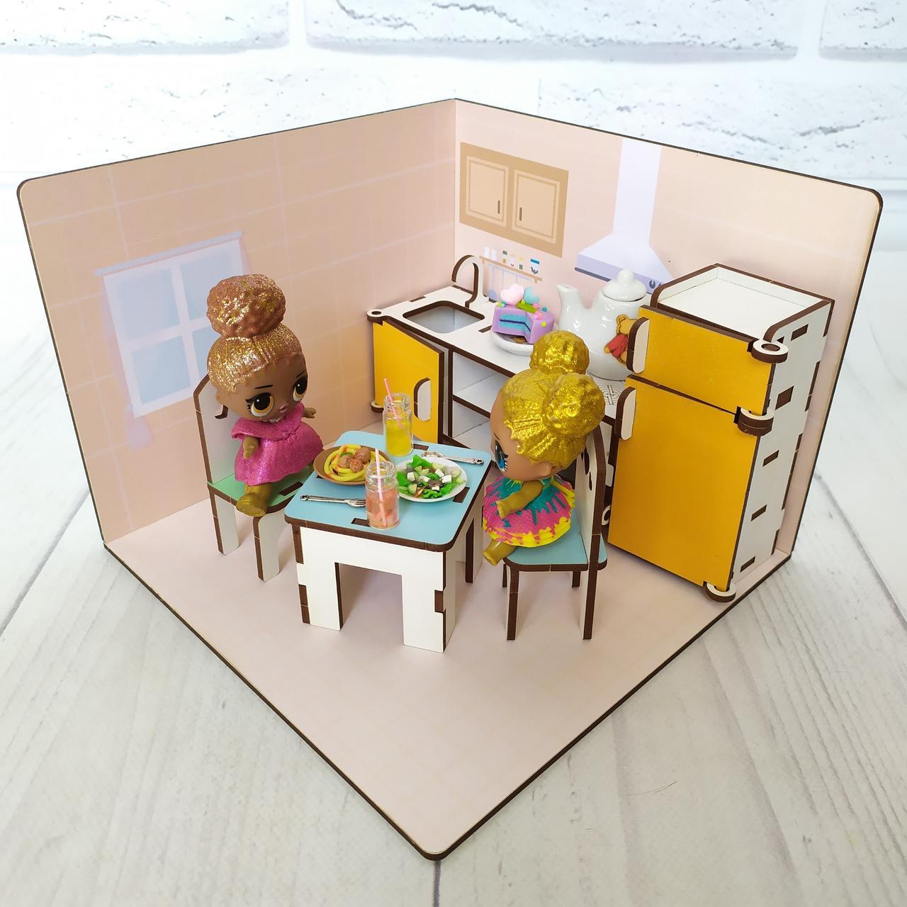 LOLBOX Кухня + обои