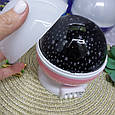 Ночник-Проектор звездного неба вращающийся Star Master Dream Rotating Projection Lamp, фото 6