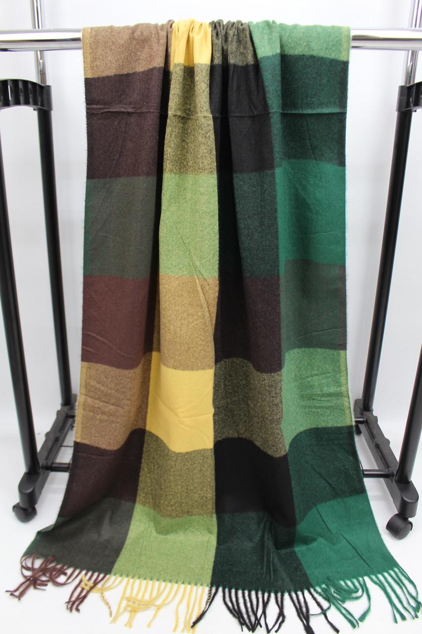 Кашемировый теплый шарф палантин  Cashmere 107041