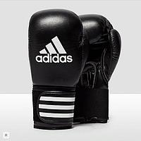 Боксерские перчатки Adidas Performer 10, 12, 14 и 16 унций тренировочные, кожаные перчатки для бокса