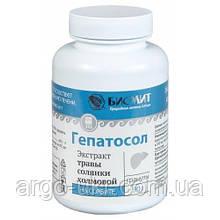 Гепатосол на сорбіті Арго для відновлення печінки, підшлункової залози, нирок, жовчного міхура