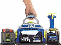 Набор с машинками для мальчиков Dickie toys Sos Управление полиции со светом и звуком 3719011, фото 1