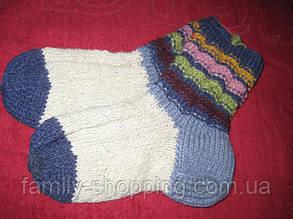 Шкарпетки дитячі футболки ручної роботи, р. 34-36