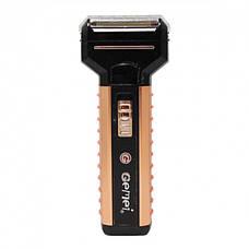 Бритва-триммер для волосся на акумуляторі 3 в 1 Gemei 789 (in-35), фото 3