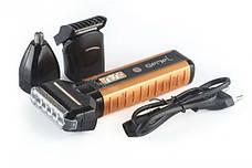 Бритва-триммер для волосся на акумуляторі 3 в 1 Gemei 789 (in-35), фото 2