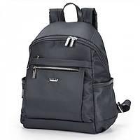 Рюкзак женский текстильный темно-серый городской молодежный Dolly 385