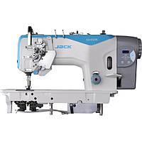 Jack JK-58720-003 двухигольная промислова швейна машина з збільшеними човниками