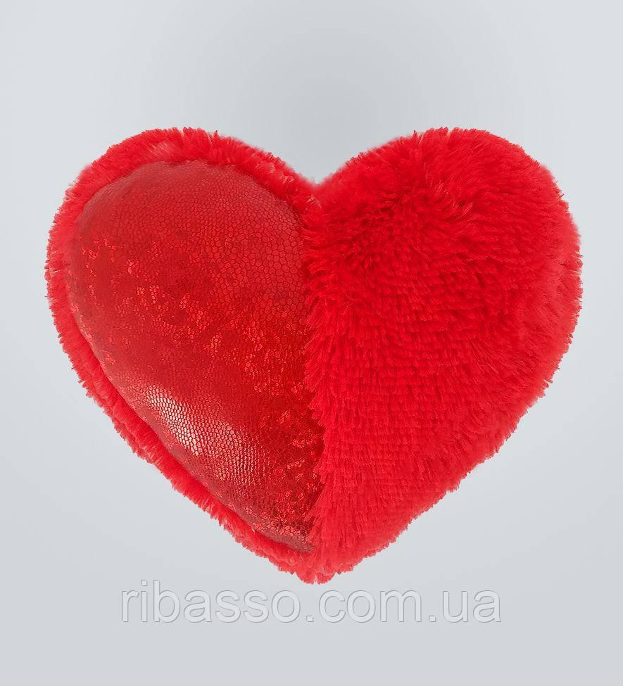 Mister Medved Плюшевая игрушка Подушка-сердце со вставкой 30 см