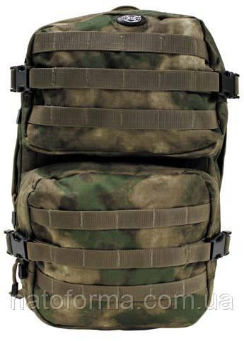 Рюкзак тактический, боевой Assault Pack II (MFH), A-Tacs FG, система MOLLE, на 40 л
