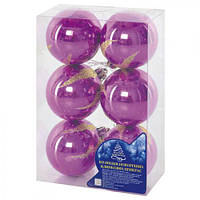 Елочные шарики 5см 6шт/наб
