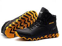 Ботинки зимние мужские ESR Sprinter Biom кожаные на меху черные, р.  40