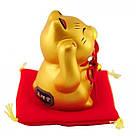 Золотой манеки-неко «С жемчужиной», фото 2